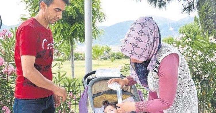 Elif, anne karnında 42 hafta bekletildi