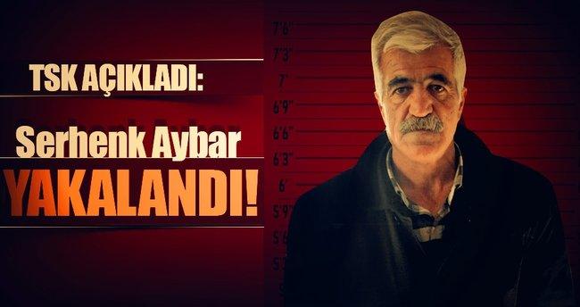 """TSK: """"BTÖ'nün eleman temin etmek üzere görevlendirdiği terörist Serhenk Aybar yakalandı"""""""