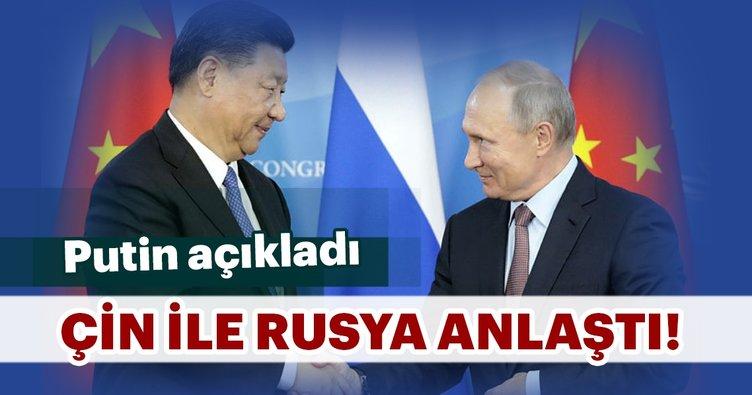 """Putin: """"Çin ile askeri ilişkilerimizi arttırıyoruz"""""""