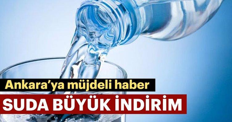 Ankara'da su fiyatlarına büyük indirim