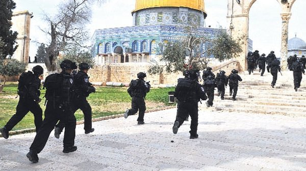 İsrail'in Mescidi Aksa planı