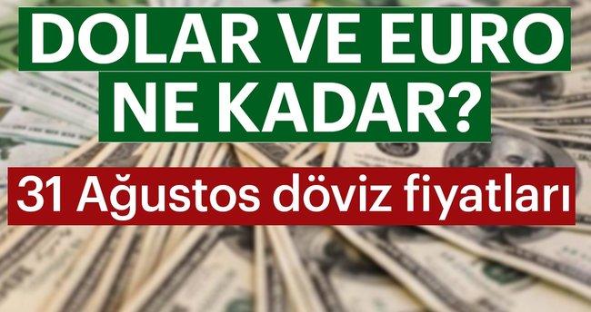 Son Dakika Haber: Dolar ve Euro şu an ne kadar ve kaç TL oldu? 31 Ağustos Cuma Döviz kuru Dolar E...