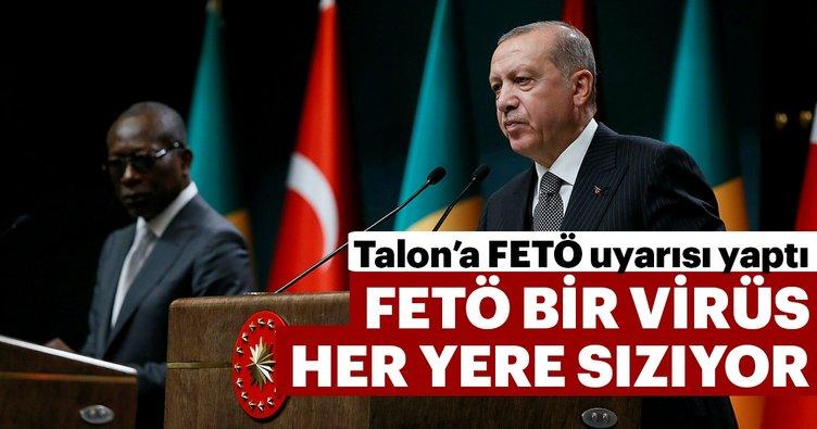 Başkan Erdoğan: 'FETÖ virüsü Benin'e de sızmış durumda'