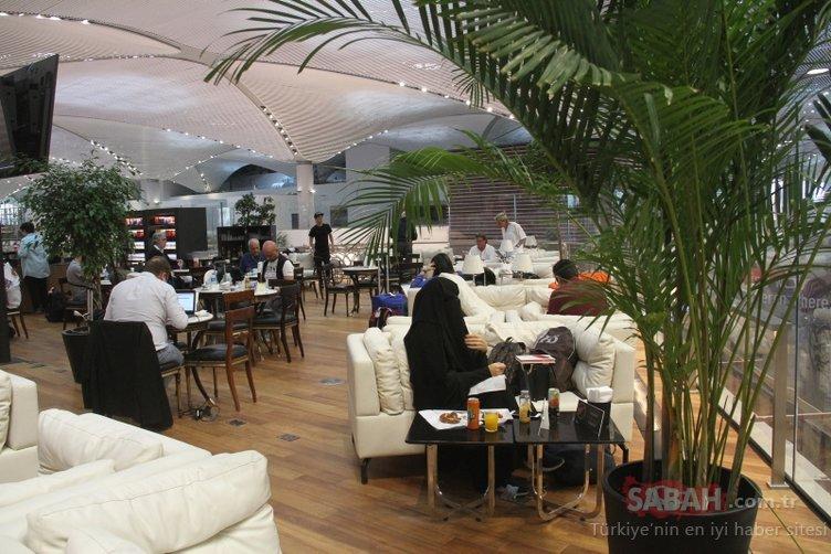 THY'den İstanbul Havalimanı'nda 5 yıldızlı otelleri aratmayan yolcu salonu!