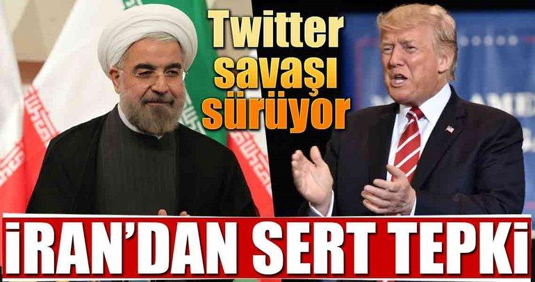 ABD ile İran'ın twitter savaşı