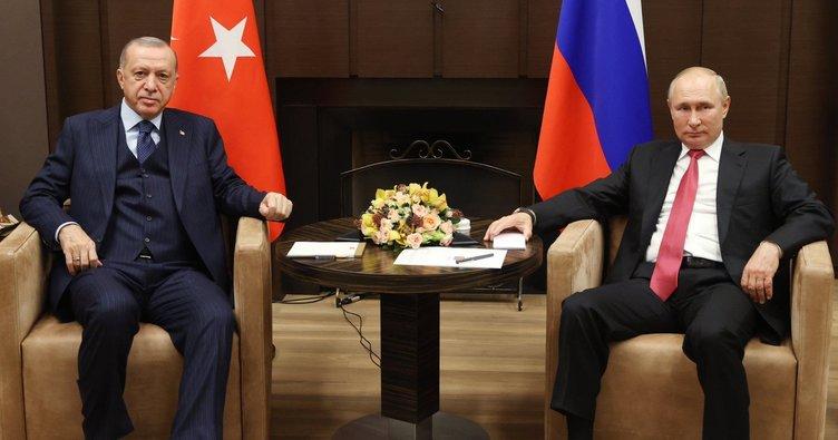 Son dakika: Başkan Erdoğan ve Putin'den Soçi'de kritik görüşme! Attığımız adımlardan dönmemiz mümkün değil