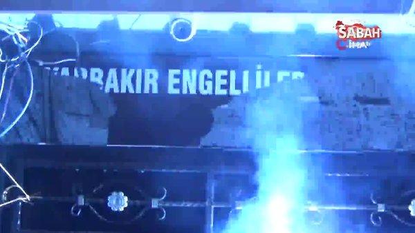 Diyarbakır'da engelli derneğinde içkili alem yaptılar   Video