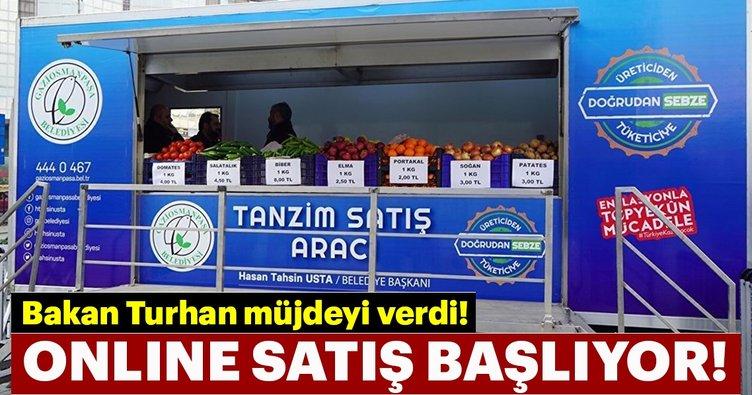 Son dakika | Bakan Turhan müjdeyi verdi! Online tanzim satış başlıyor...
