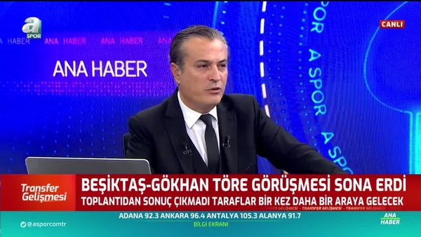 Beşiktaş'ta Gökhan Töre görüşmesi sona erdi!