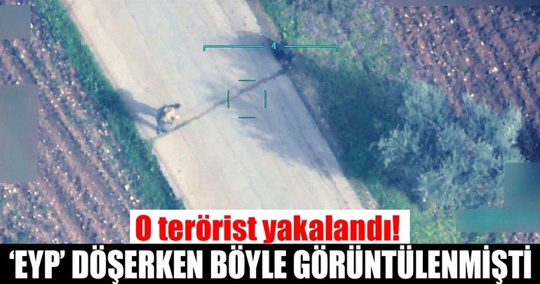 Afrin'de sivillere EYP'yle tuzak kuran o terörist yakalandı