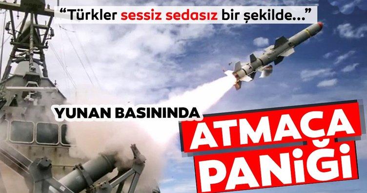 Yunan basınında büyük panik: Türkiye, Atmaca füzelerini sessiz sedasız şekilde donanma envanterine aldı