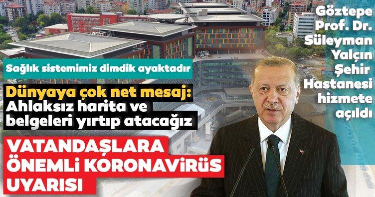Son dakika | Türkiye'ye yeni sağlık üssü! Başkan Erdoğan'dan dünyaya çok net mesaj