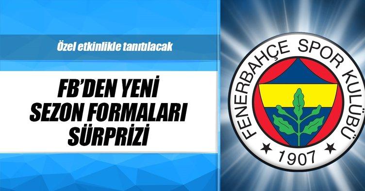 Fenerbahçe'de yeni sezon formaları yarın tanıtılacak