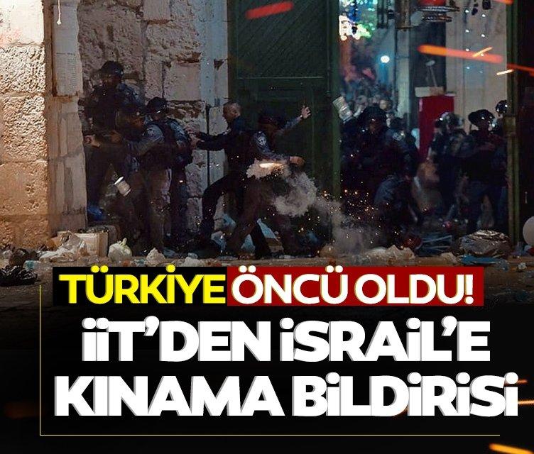 İslam İşbirliği Teşkilatı'ndan İsrail'e kınama bildirisi! Türkiye öncü oldu
