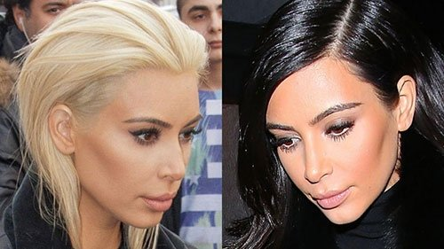 Saçlarını boyatarak bambaşka bir hale gelen ünlüler