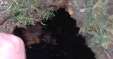 Üsküdar'da esrarengiz tünel...
