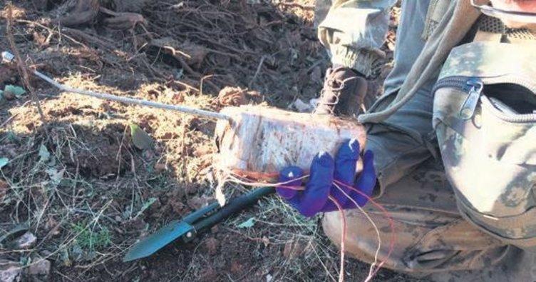 Özel anahtar sistemli patlayıcı imha edildi