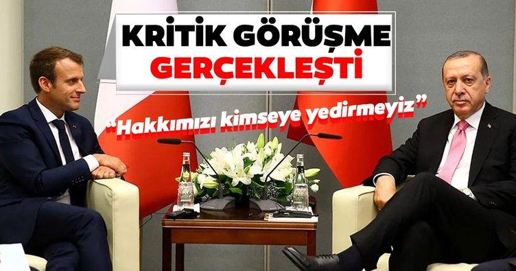 Son dakika: Başkan Erdoğan, Macron ile telefonda görüştü! İşte detaylar;