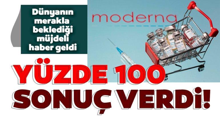 Son dakika haberi | Moderna corona virüs aşısıyla ilgili sonuçlarını açıkladı: Yüzde 100 koruma sağladı...