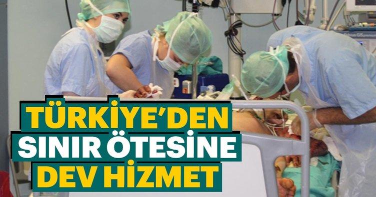 Türkiye'den sınır ötesine dev hizmet