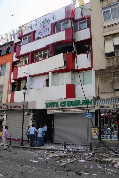HDP binalarında patlama
