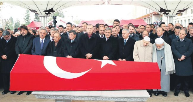 Korkut Özal'ı devletin zirvesi uğurladı