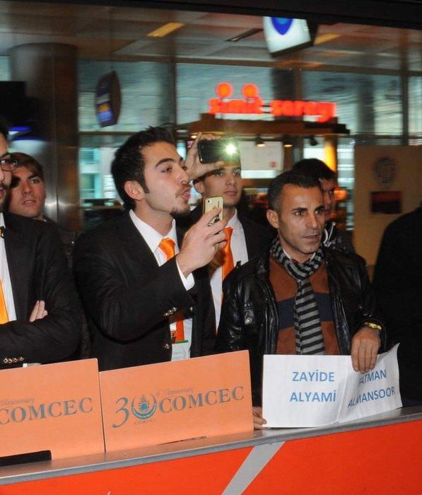 Galatasaraylı futbolculara tepki