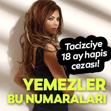 Şarkıcı Nez'i taciz eden Murat A. hapis cezasından kurtulamadı!
