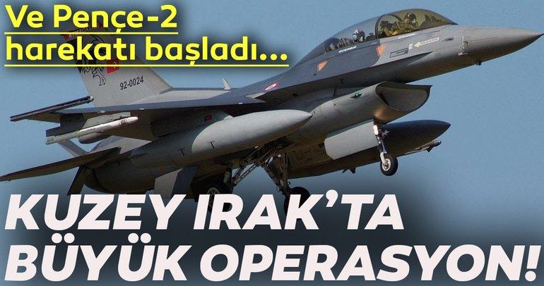 Son dakika haberi: Irak'ın kuzeyinde PKK hedefleri vuruldu