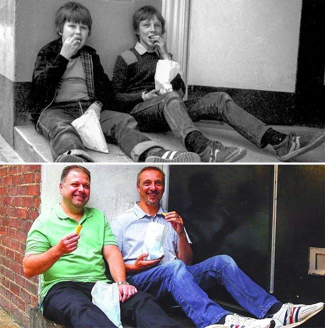 Yıllar sonra aynı karelerde buluştular