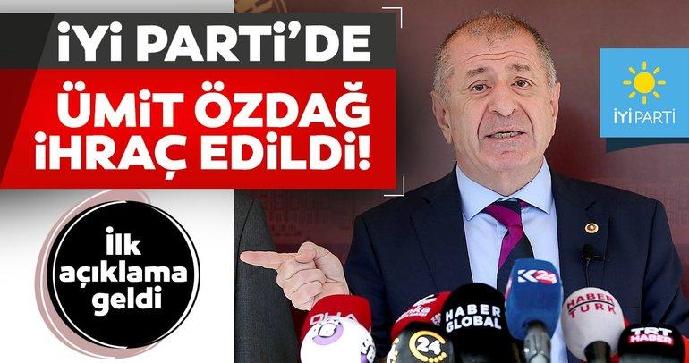 Son dakika haberi: İYİ Parti'de Ümit Özdağ kararı açıklandı! Özdağ'dan flaş sözler: Yargıya gideceğim...