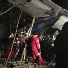 Kanada'da uçak düştü
