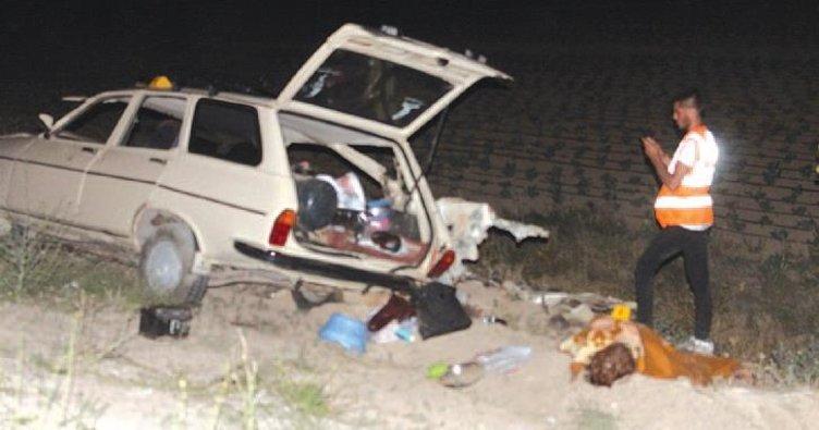Niğde'de katliam gibi kaza: 4 ölü 8 yaralı