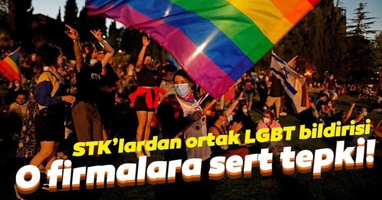 50 STK'dan ortak bildiri! LGBT ürünleri satan markalara sert tepki...