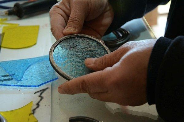 İstanbul'dan Afyonkarahisar'a uzanan vitray hikayesi