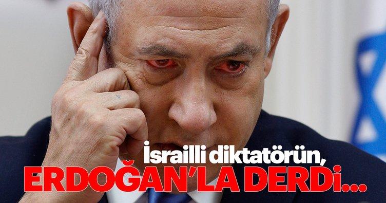 Netanyahu'nun derdi Erdoğan'ın davasıyla