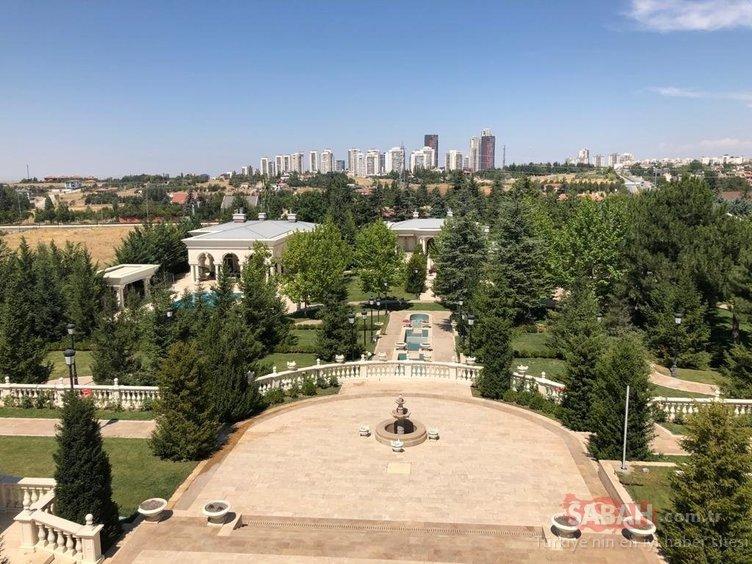 Darbeciler sözde 'Bakanlar Kurulu' masası bile hazırlamış! İşte FETÖ'nün Ankara'daki malikanesi...