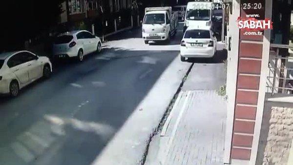 Alışveriş çantasıyla 10 adresi soymuştu! Yakalandı   Video