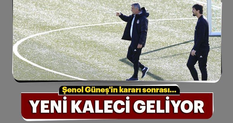 Beşiktaş'ın yeni kalecisi bu hafta belli oluyor