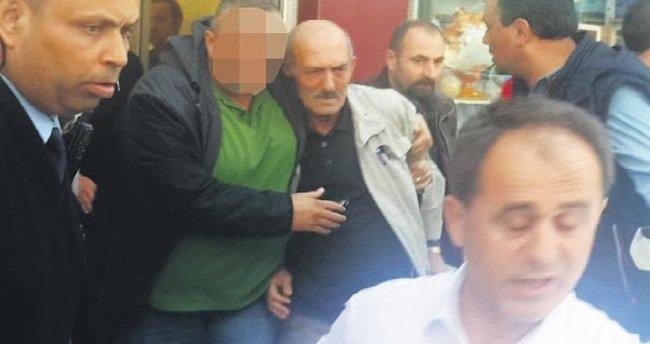 Emekli polis kurşun yağdırdı