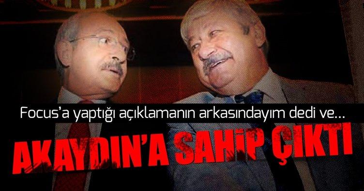 Kılıçdaroğlu Focus dergisine yaptığı açıklamaların arkasında olduğunu söyledi