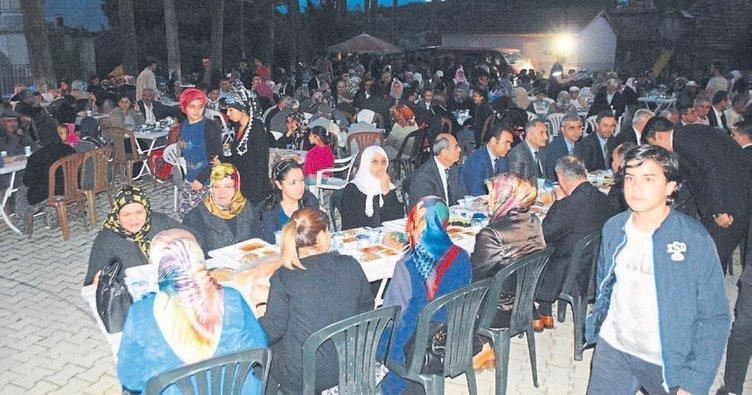 Şehit ailesinden iftar