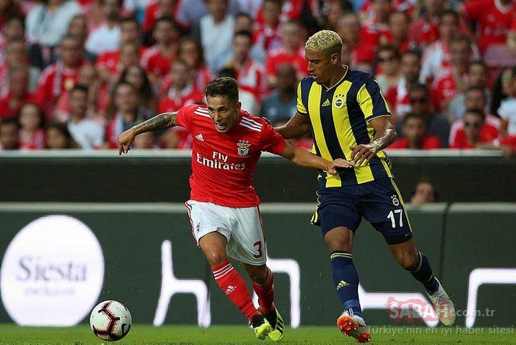 İşte Fenerbahçe'nin Benfica maçı 11'i