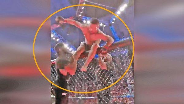 UFC Dünya Şampiyonu Khabib Nurmagomedov, Justin Gaethje'yi böyle bayıltarak nakavt etti | Video