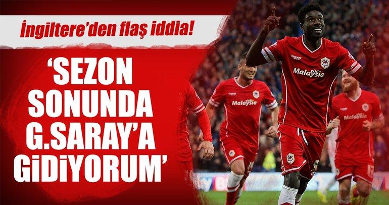 Galatasaray sezon sonu için o isimle anlaştı!