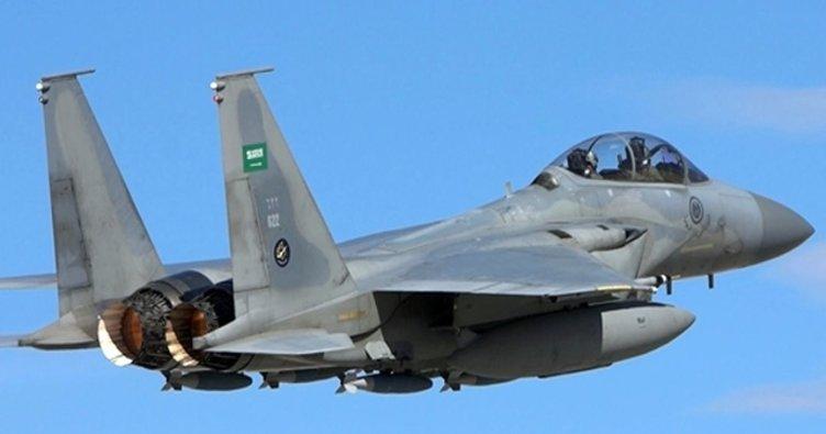 Son dakika... Suudi Arabistan bomba yağdırdı!