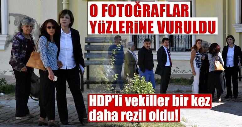 HDP'li vekiller, Meclis'te bir kez daha rezil oldu! O fotoğraflar yüzlerine vuruldu