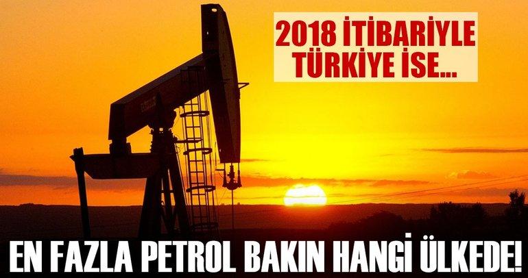 Dünyanın en büyük petrol rezervlerine sahip ülkeler listesi yenilendi!