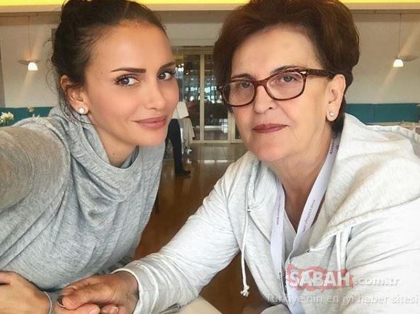 Sinem Kobal ve Kenan İmirzalıoğlu'ndan aile tablosu... Sinem Kobal'ın annesi güzelliği ile gençlere taş çıkardı!