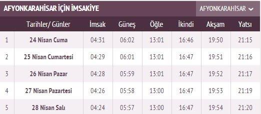 İstanbul ve il il İmsakiye takvimi burada! 2020 İstanbul, Ankara, İzmir ilk sahur saati ve il il sahur saat kaçta? İmsakiye ile ilk imsak sahur vakti ve iftar saatleri